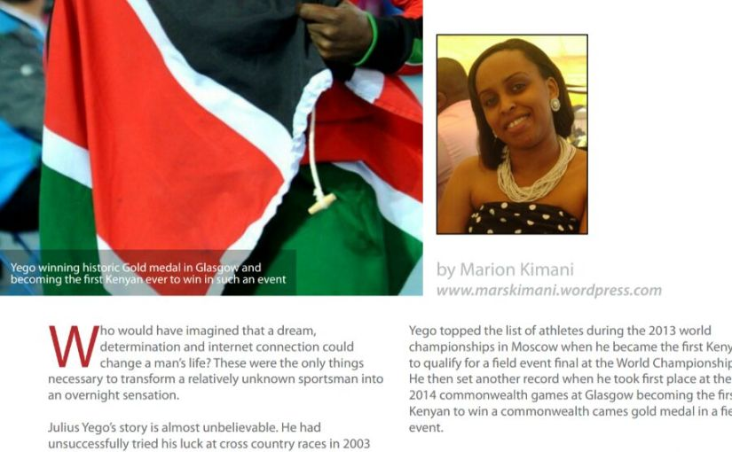 East Africa's Javelin Champion